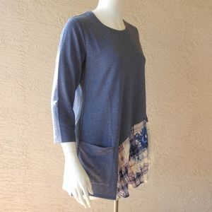 LOGO by Lori Goldstein Tops - Relaxed Fit Tunic LOGO Lounge NWOT